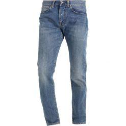 Spodnie męskie: Edwin ED80 Jeansy Slim Fit clean wash
