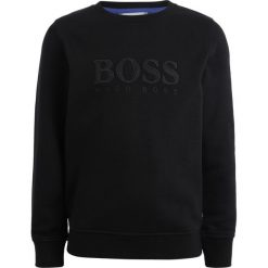BOSS Kidswear Bluza schwarz. Niebieskie bluzy chłopięce marki BOSS Kidswear, z bawełny. Za 379,00 zł.