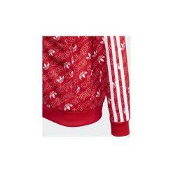 Bluzy dresowe Dziecko adidas  Bluza dresowa Trefoil Monogram SST. Czerwone bluzy chłopięce marki Adidas, z dresówki. Za 199,00 zł.