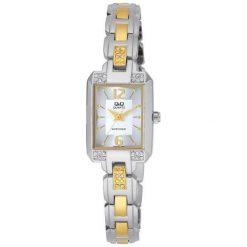 Zegarki damskie: Zegarek Q&Q Damski  F339-401 Biżuteryjny