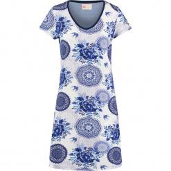 """Koszula nocna """"Grande"""" w kolorze niebiesko-białym. Białe koszule nocne i halki Hip. W wyprzedaży za 172,95 zł."""