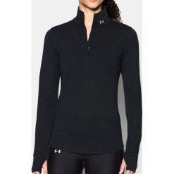 Bluzy sportowe damskie: Under Armour Bluza damska Threadborne Streaker 1/2 Zip czarna r. XS (1271525-716)