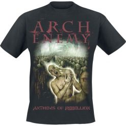 T-shirty męskie z nadrukiem: Arch Enemy Anthems of rebellion T-Shirt czarny