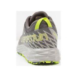La Sportiva LYCAN Obuwie do biegania Szlak carbon/apple green. Szare buty do biegania męskie La Sportiva, z gumy. Za 499,00 zł.