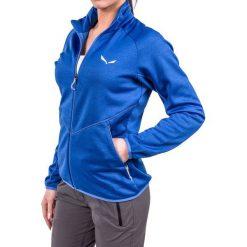 Bluzy damskie: Salewa Bluza damska Puez Melange Midlayer W Full-Zip niebieska r. S (26536)