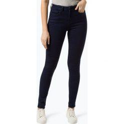 Pepe Jeans - Jeansy damskie – Dion, niebieski. Szare spodnie z wysokim stanem marki Pepe Jeans, m, z jeansu, z okrągłym kołnierzem. Za 439,95 zł.