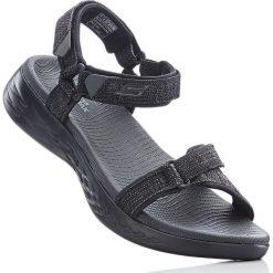 Sandały trekkingowe bonprix czarny. Czerwone buty trekkingowe damskie marki Casu, w ażurowe wzory, na obcasie. Za 219,99 zł.