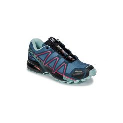 Buty do biegania Salomon  SPEEDCROSS 4 CS W. Czarne buty do biegania damskie marki Salomon, z gore-texu, na sznurówki, gore-tex. Za 511,20 zł.