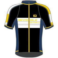 IQ Koszulka rowerowa Tovi Black/ Navy Peony/ Cyber Yellow/ White r. XXL. Szare odzież rowerowa męska marki IQ, l. Za 111,92 zł.