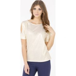 Bluzki asymetryczne: Połyskująca bluzka