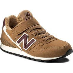 Trampki chłopięce: Sneakersy NEW BALANCE – KV996TLY Brązowy