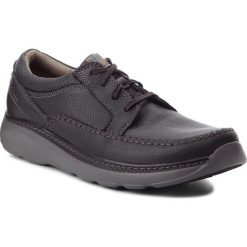 Derby męskie: Półbuty CLARKS - Charton Vibe 261149937  Black Leather