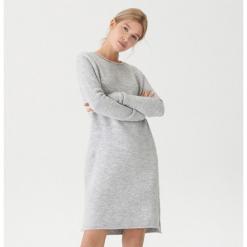 Długi sweter - Jasny szar. Szare swetry klasyczne damskie marki House, l. Za 119,99 zł.
