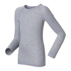 Odlo Koszulka tech. Odlo Shirt l/s crew neck WARM KIDS - 10459 - 10459/15700/152. Czarne t-shirty chłopięce marki Odlo. Za 99,95 zł.