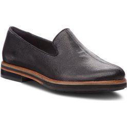 Lordsy CLARKS - Frida Loafer 261359904 Black Leather. Czarne lordsy damskie Clarks, ze skóry. Za 499,00 zł.
