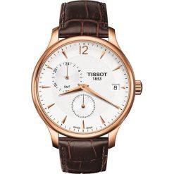 RABAT ZEGAREK TISSOT T-CLASSIC T063.639.36.037.00. Białe zegarki męskie TISSOT, ze stali. W wyprzedaży za 1619,21 zł.