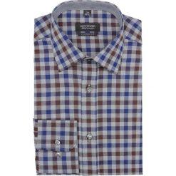 Koszula bexley f2640 długi rękaw custom fit granatowy. Niebieskie koszule męskie Recman, m, z długim rękawem. Za 139,00 zł.