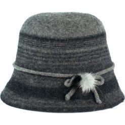 Kapelusz damski Brytyjskie dziedzictwo szary. Szare kapelusze damskie Art of Polo. Za 70,68 zł.