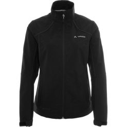 Bomberki damskie: Vaude WOMEN'S HURRICANE JACKET III Kurtka Softshell black
