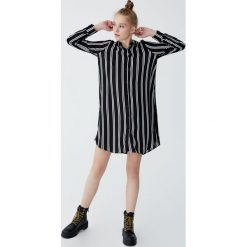 Sukienki: Sukienka koszulowa w paski
