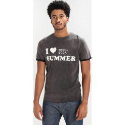 T-shirty męskie z nadrukiem: Scotch & Soda SUNBLEACHED  Tshirt z nadrukiem black shadow