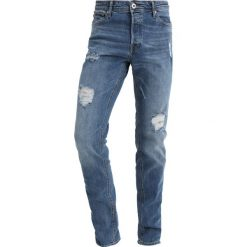 Jack & Jones JJITIM JJORIGINAL Jeansy Slim Fit blue denim. Szare rurki męskie marki Jack & Jones, casualowe. Za 169,00 zł.