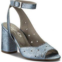 Rzymianki damskie: Sandały ANN MEX – 8502 05BRD Niebieski