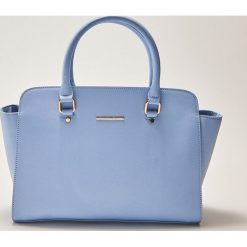 Torebki klasyczne damskie: Elegancka torba typu city - Niebieski