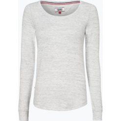 T-shirty damskie: Tommy Jeans - Damska koszulka z długim rękawem, szary