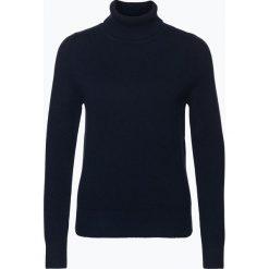 Brookshire - Sweter damski, niebieski. Czarne golfy damskie marki brookshire, m, w paski, z dżerseju. Za 149,95 zł.