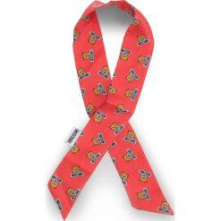Apaszka MOSCHINO - 03105 005. Czerwone apaszki damskie marki MOSCHINO, z jedwabiu. Za 219,00 zł.