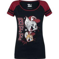 Bluzki damskie: Tom & Jerry Best Friends Forever Koszulka damska czarny/ciemnoczerwony