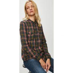 Review - Koszula. Szare koszule damskie w kratkę Review, m, z bawełny, casualowe, z długim rękawem. Za 89,90 zł.