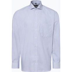 Eterna Comfort Fit - Koszula męska – niewymagająca prasowania, niebieski. Niebieskie koszule męskie non-iron Eterna Comfort Fit, m. Za 149,95 zł.