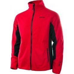 Bluzy męskie: Hi-tec Bluza męska SILVI HIGH RISK czerwono-czarna r. XL