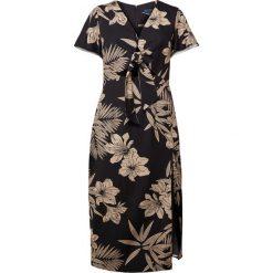 Polo Ralph Lauren TENCEL Długa sukienka hawaiian floral. Czarne długie sukienki marki Polo Ralph Lauren, polo. W wyprzedaży za 671,60 zł.