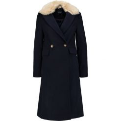 Płaszcze damskie pastelowe: Topshop COLLR TUCK Płaszcz wełniany /Płaszcz klasyczny navy blue