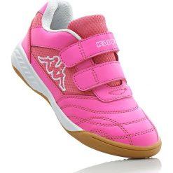 Buty sportowe Kappa bonprix różowo-biały. Czerwone buty sportowe chłopięce bonprix. Za 89,99 zł.