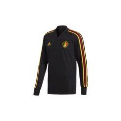 Bejsbolówki męskie: T-shirty z długim rękawem adidas  Bluza treningowa reprezentacji Belgii