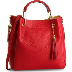 Torebka CREOLE - K10509  Czerwony. Czerwone torebki klasyczne damskie Creole, ze skóry. W wyprzedaży za 229,00 zł.