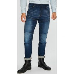 G-Star Raw - Jeansy 5620. Niebieskie jeansy męskie slim G-Star RAW, z bawełny. W wyprzedaży za 499,90 zł.