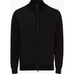 BOSS - Kardigan męski – Elfonte, czarny. Czarne swetry rozpinane męskie Boss, m, z dzianiny, eleganckie. Za 849,95 zł.