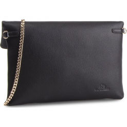Torebka WITTCHEN - 87-4E-442-1  Czarny. Czarne torebki klasyczne damskie Wittchen, ze skóry. W wyprzedaży za 349,00 zł.