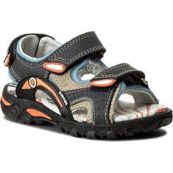 Sandały BARTEK - 16108/207 Ocean-Szary. Niebieskie sandały chłopięce Bartek, z materiału. W wyprzedaży za 159,00 zł.