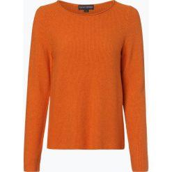 Franco Callegari - Sweter damski, pomarańczowy. Zielone swetry klasyczne damskie marki Franco Callegari, z napisami. Za 179,95 zł.