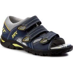 Sandały BARTEK - 19106-199 Ocean. Niebieskie sandały męskie skórzane marki Bartek. W wyprzedaży za 169,00 zł.