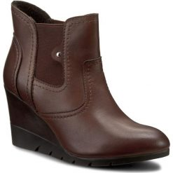 Botki SERGIO BARDI - Loriana FW127283117DP 105. Brązowe buty zimowe damskie Sergio Bardi, z gumy, na koturnie. W wyprzedaży za 189,00 zł.