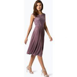 Swing - Damska sukienka wieczorowa, lila. Szare sukienki koktajlowe marki Swing, z koronki. Za 449,95 zł.
