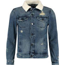 Kurtki męskie bomber: Cayler & Sons CLASSIC Kurtka jeansowa sand washed blue