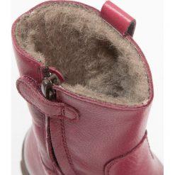 Froddo Śniegowce bordeaux. Niebieskie buty zimowe damskie marki Froddo, z materiału, na wysokim obcasie. W wyprzedaży za 287,20 zł.